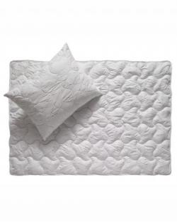 "Patiesalas ""Metallic white / black"" sveika ir higieniška miego higiena"